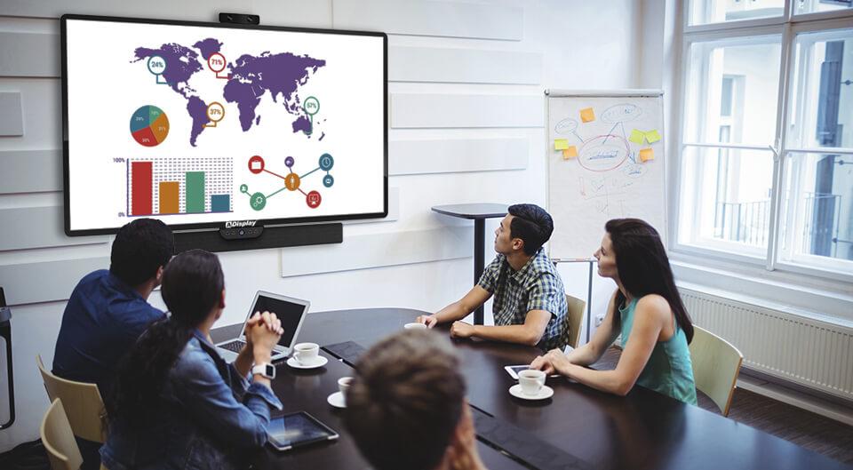Videokonference demonstration