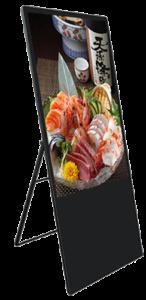 """ADisplay Portable 43"""" LCD Skilt"""